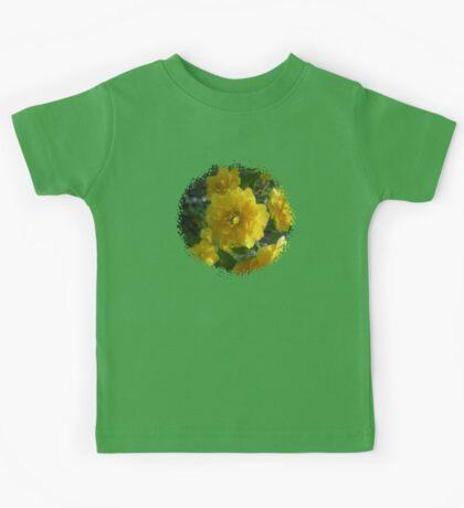 Yellow Flowers 0701 Kids Tee