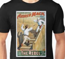 Performing Arts Posters The singing comedian Andrew Mack in his new play The rebel a drama of the Irish rebellion by James B Fagen 1333 Unisex T-Shirt