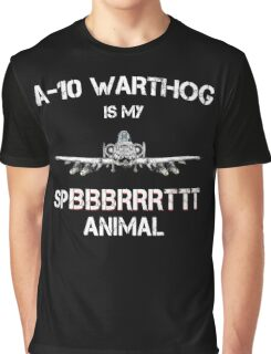 A-10 WARTHOG - Spirit Animal Graphic T-Shirt