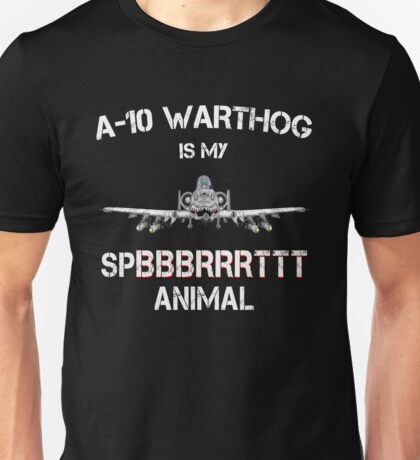 A-10 WARTHOG - Spirit Animal Unisex T-Shirt