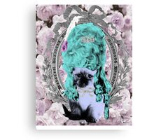Mozart and Marie Miss Princess Kitty Canvas Print