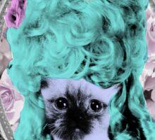 Mozart and Marie Miss Princess Kitty Sticker