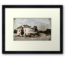 Pineville Town Square Framed Print