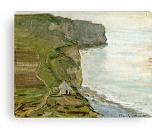 Claude Monet - Cape Antifer, Etretat  Canvas Print