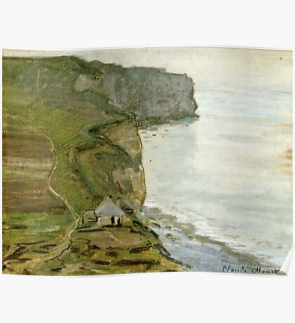 Claude Monet - Cape Antifer, Etretat  Poster