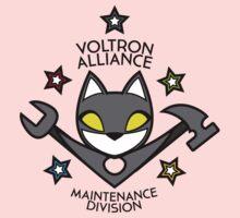 V.A. Maintenance Division Black One Piece - Short Sleeve