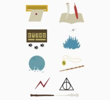 Harry Potter Through the Years Minimalist Kids Clothes