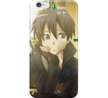 Sword Art Online Kirito iPhone Case/Skin