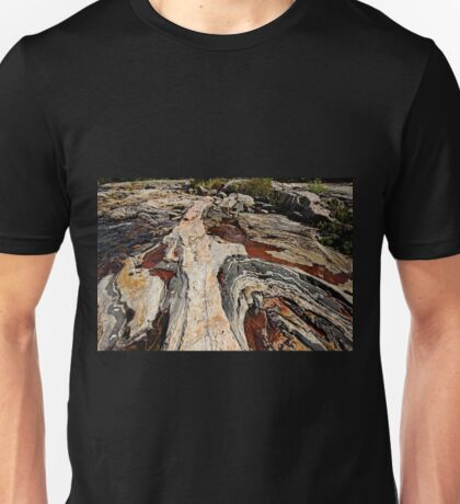 Rocky Pools - Wreck Island Unisex T-Shirt