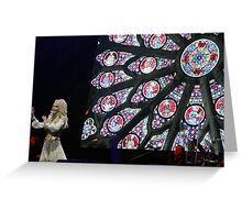 Dolly Parton in Concert 2014 Greeting Card