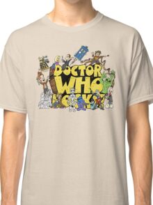 Doctor Who Rocks Classic T-Shirt