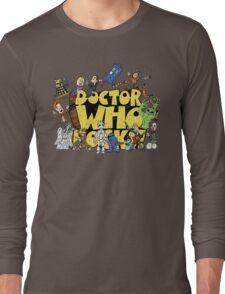 Doctor Who Rocks Long Sleeve T-Shirt