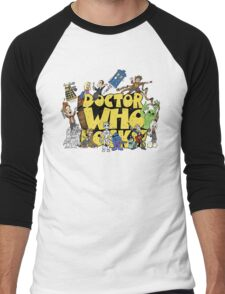 Doctor Who Rocks Men's Baseball ¾ T-Shirt