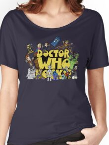 Doctor Who Rocks Women's Relaxed Fit T-Shirt