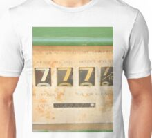 Lucky 7 - Sevens for Everyone - Abstract Art Unisex T-Shirt
