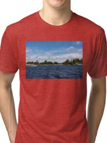 The Silver Bullet - Little Silver Boat Speeding Along Tri-blend T-Shirt