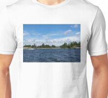 The Silver Bullet - Little Silver Boat Speeding Along Unisex T-Shirt