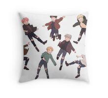 MINI BANGTAN Throw Pillow