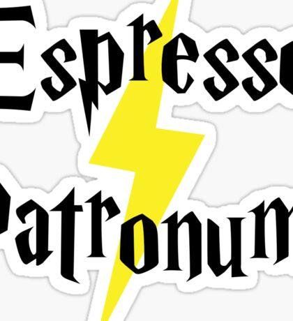 Espresso Patronum! Sticker