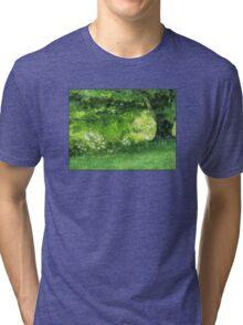 Casually Green Tri-blend T-Shirt