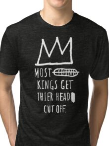 "Basquiat ""Young Kings"" Quote Tri-blend T-Shirt"