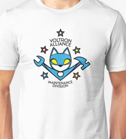V.A. Maintenance Division Blue Unisex T-Shirt