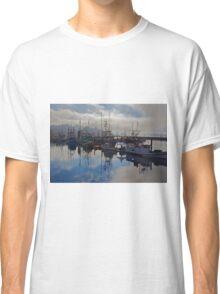 Newport Harbor, Newport Oregon Classic T-Shirt