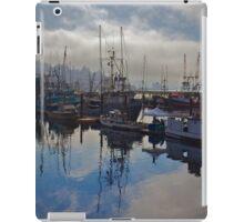 Newport Harbor, Newport Oregon iPad Case/Skin