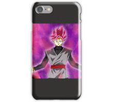 Black goku super sayan rose iPhone Case/Skin