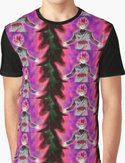 Black goku super sayan rose Graphic T-Shirt