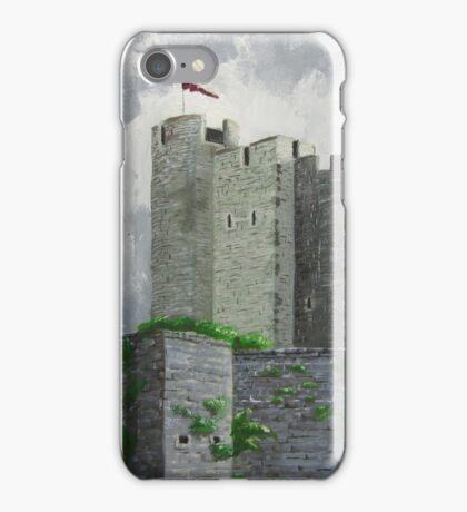 Caerphilly Castle iPhone Case/Skin