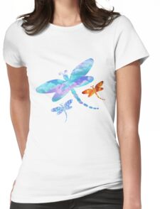 Dragonflies Womens Fitted T-Shirt