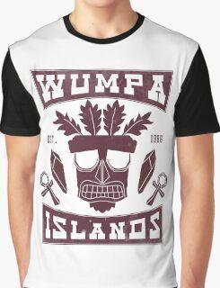 Aku Aku Wumpa Islands Graphic T-Shirt