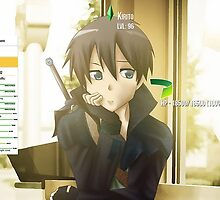 Sword Art Online Kirito by Joel Birch