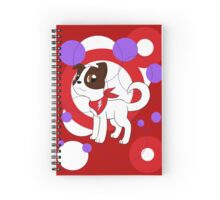 Churro, the Saucy pup Spiral Notebook