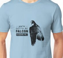 You've Gotta Be Falcon Kidding Me Unisex T-Shirt