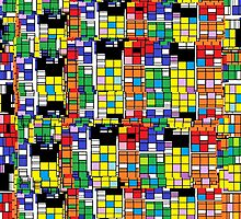 Rubik's Quadtangle by Jana Gilmore