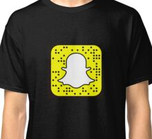 snapchat logo Classic T-Shirt