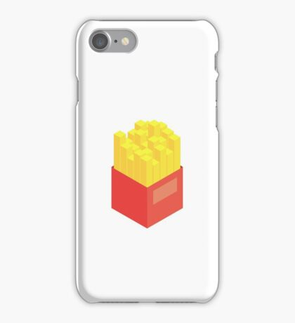 Isometric Fries iPhone Case/Skin