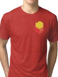 Isometric Fries Tri-blend T-Shirt