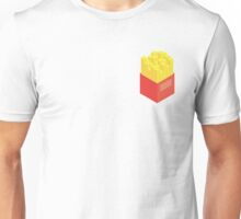 Isometric Fries Unisex T-Shirt