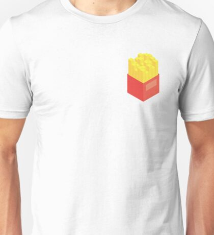 Isometric Fries Unisex T-Shirt
