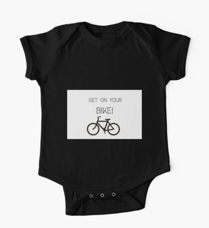 Get on your bike! One Piece - Short Sleeve