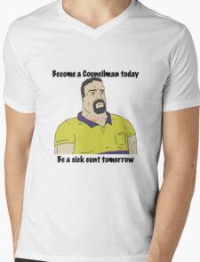 Mike Nolan councilman big lez show Mens V-Neck T-Shirt