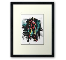 Dressed in Iron Framed Print