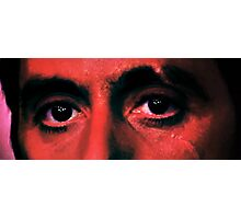 Scarface Eyes Photographic Print