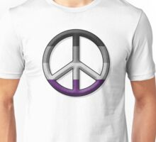 Asexual Peace Sign Unisex T-Shirt