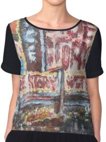 West Side Chiffon Top