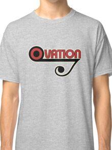 Ovation Guitars Music Note WBR  Classic T-Shirt