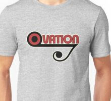Ovation Guitars Music Note WBR  Unisex T-Shirt